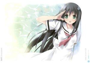 Rating: Safe Score: 20 Tags: amesarasa chiyokawa_rin cuffs kantoku seifuku User: Twinsenzw