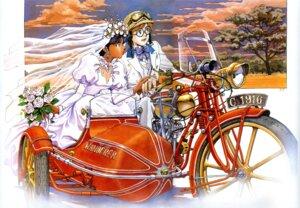 Rating: Safe Score: 12 Tags: dress jean_roc_lartigue nadia nadia_secret_of_blue_water sadamoto_yoshiyuki wedding_dress User: Radioactive