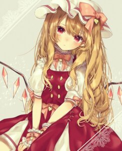 Rating: Questionable Score: 26 Tags: flandre_scarlet touhou wings yedan User: sym455
