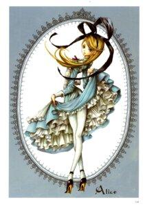 Rating: Safe Score: 9 Tags: alice alice_in_wonderland dress nao_tsukiji pantyhose User: shunya
