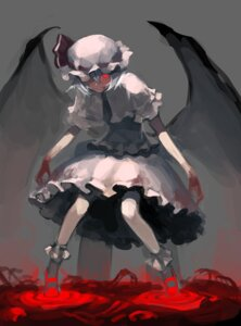 Rating: Safe Score: 21 Tags: azuki_(azuki-taste) blood remilia_scarlet touhou wings User: Mr_GT