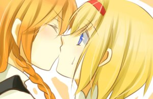 Rating: Safe Score: 11 Tags: alice_margatroid kirisame_marisa touhou uto_(whoopee) yuri User: Radioactive