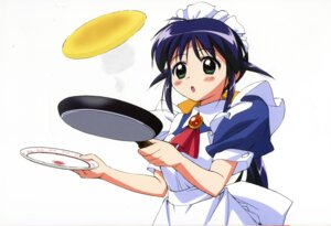Rating: Safe Score: 8 Tags: andou_mahoro mahoromatic maid takamura_kazuhiro User: Wraith