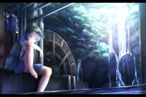 Rating: Questionable Score: 53 Tags: feet kawashiro_nitori landscape touhou waterdog wet User: sylver650