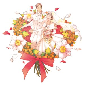 Rating: Safe Score: 4 Tags: dress okino wedding_dress User: Phiris