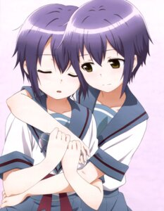 Rating: Safe Score: 38 Tags: megane nagato_yuki nagato_yuki-chan_no_shoushitsu seifuku User: drop