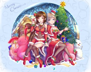 Rating: Safe Score: 19 Tags: christmas cleavage heels ichigo_(artist) nitta_minami the_idolm@ster the_idolm@ster_cinderella_girls thighhighs User: Mr_GT