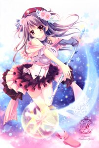 Rating: Safe Score: 121 Tags: hisuitei izumi_tsubasu thighhighs weapon User: 雪車町