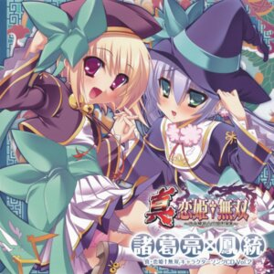 Rating: Questionable Score: 12 Tags: baseson disc_cover garter_belt houtou katagiri_hinata koihime_musou pantsu shin_koihime_musou shokatsuryou stockings thighhighs User: acas