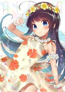 Rating: Safe Score: 21 Tags: dress gyouzanuko hinatsuru_ai ryuuou_no_oshigoto! skirt_lift summer_dress User: Mr_GT