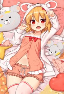 Rating: Safe Score: 31 Tags: animal_ears rumia shiron thighhighs touhou User: Mr_GT