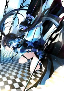 Rating: Safe Score: 30 Tags: black_rock_shooter black_rock_shooter_(character) vocaloid xephonia User: fireattack