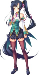 Rating: Safe Score: 33 Tags: heels kanu koihime_musou no_bra thighhighs User: Radioactive