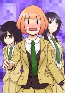 Rating: Safe Score: 3 Tags: kuroki_tomoko seifuku tagme watashi_ga_motenai_no_wa_dou_kangaetemo_omaera_ga_warui! User: Radioactive