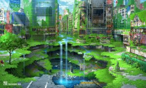Rating: Safe Score: 25 Tags: landscape tokyo_gensou User: darkies