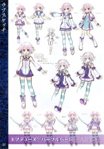 Rating: Safe Score: 17 Tags: choujigen_game_neptune kami_jigen_game_neptune_v neptune sketch tsunako User: TopSpoiler