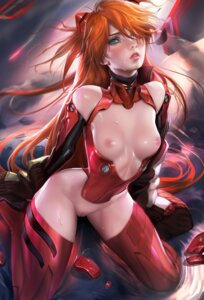 Rating: Explicit Score: 79 Tags: bodysuit heels neon_genesis_evangelion nipples no_bra nopan pussy sakimichan souryuu_asuka_langley thighhighs wet User: charunetra