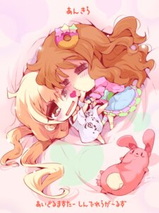 Rating: Safe Score: 13 Tags: chibi futaba_anzu the_idolm@ster the_idolm@ster_cinderella_girls usoneko yuri User: Radioactive