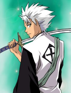 Rating: Safe Score: 5 Tags: bleach hitsugaya_toushirou kingvegito male sword vector_trace User: charunetra
