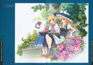 Rating: Safe Score: 14 Tags: alice_margatroid an2a crease gap kirisame_marisa overfiltered touhou wind_mail User: Radioactive