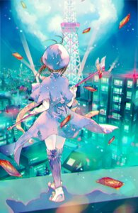 Rating: Safe Score: 24 Tags: ahma card_captor_sakura dress kinomoto_sakura thighhighs weapon User: charunetra