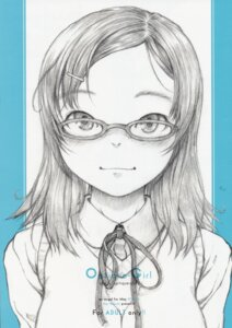 Rating: Safe Score: 5 Tags: may_no_tenshi megane neyuki_rei sketch User: Radioactive