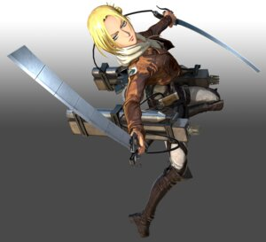 Rating: Safe Score: 8 Tags: cg shingeki_no_kyojin sword uniform User: NotRadioactiveHonest