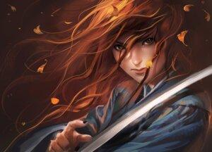 Rating: Safe Score: 27 Tags: sakimichan sword User: charunetra