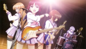 Rating: Safe Score: 21 Tags: angel_beats! guitar hisako irie_(angel_beats!) iwasawa ohigashi_yurie sekine thighhighs User: Jigsy