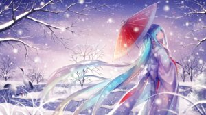 Rating: Safe Score: 40 Tags: hatsune_miku kimono tid umbrella vocaloid User: Mr_GT