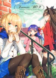 Rating: Safe Score: 16 Tags: alicesyndrome* fate/stay_night matou_sakura saber toosaka_asagi toosaka_rin User: kiyoe