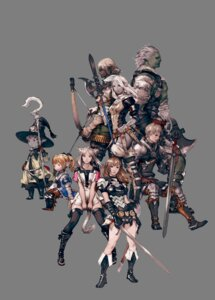 Rating: Safe Score: 15 Tags: armor dress elezen final_fantasy final_fantasy_xiv hyur lalafell miqo'te pointy_ears roegadyn sword thighhighs transparent_png weapon yoshida_akihiko User: Radioactive