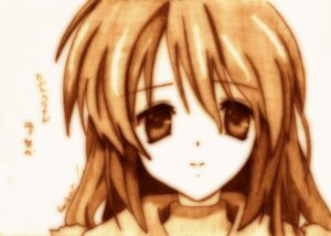 Rating: Safe Score: 6 Tags: clannad godees monochrome sakagami_tomoyo User: charunetra