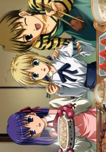 Rating: Safe Score: 5 Tags: fate/stay_night fujimura_taiga matou_sakura saber User: Radioactive