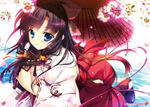 Rating: Safe Score: 91 Tags: mikeou miko umbrella User: Twinsenzw