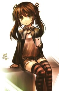Rating: Safe Score: 40 Tags: kotoba_noriaki thighhighs User: Radioactive