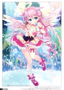 Rating: Questionable Score: 33 Tags: angel dress garter nagayama_yuunon stardust_cradle wings User: kiyoe