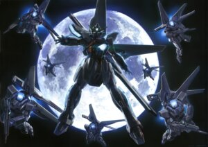 Rating: Safe Score: 10 Tags: gundam gundam_x mecha User: solidvanz