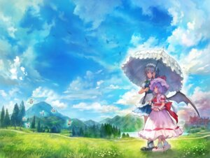 Rating: Safe Score: 27 Tags: fairy izayoi_sakuya maid matsukichiii remilia_scarlet touhou umbrella wings User: Mr_GT