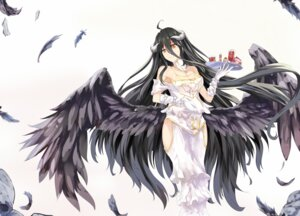 Rating: Questionable Score: 46 Tags: albedo_(overlord) cleavage horns overlord white_crow wings User: sylver650