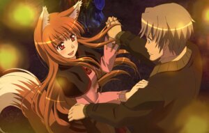 Rating: Questionable Score: 20 Tags: animal_ears arakawa_megumi craft_lawrence holo spice_and_wolf User: withul