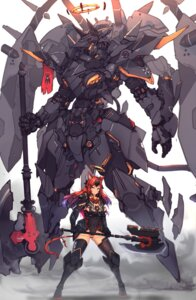 Rating: Safe Score: 19 Tags: animal_ears bodysuit mecha syaha tail thighhighs weapon User: Dreista