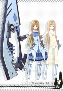 Rating: Safe Score: 37 Tags: asahiage bra chainsaw dress pantsu poco User: fireattack