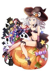 Rating: Questionable Score: 22 Tags: bra cleavage halloween heels neko pantsu witch yoshida_iyo User: john.doe
