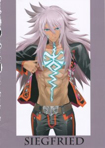 Rating: Questionable Score: 4 Tags: crazy_clover_club fate/grand_order male open_shirt shirotsumekusa siegfried_(fate) User: Radioactive