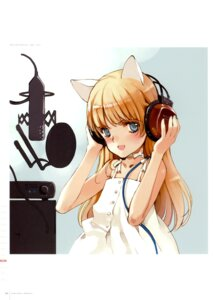 Rating: Safe Score: 22 Tags: animal_ears color_issue dress ema_(shirotsume_souwa) headphones littlewitch nekomimi oyari_ashito shirotsume_souwa summer_dress User: Radioactive