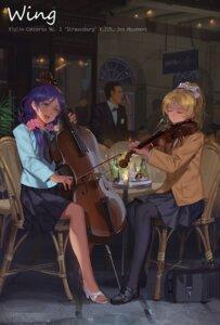 Rating: Safe Score: 24 Tags: alphonse ayase_eli heels love_live! pantyhose seifuku toujou_nozomi User: Mr_GT