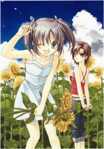 Rating: Safe Score: 8 Tags: dress eita_mizuno spiral summer_dress takamachi_ryoko takeuchi_rio User: Radioactive