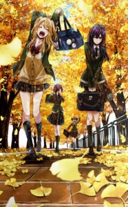 Rating: Safe Score: 36 Tags: aihara_mei aihara_yuzu_(citrus) citrus_(manga) momokino_himeko saburouta seifuku sweater taniguchi_harumi User: kiyoe