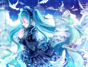 Rating: Safe Score: 16 Tags: gothic_lolita hatsune_miku iceblue lolita_fashion vocaloid User: Mr_GT